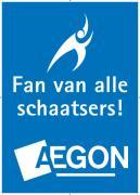 Aegon stopt als hoofdsponsor schaatsbond