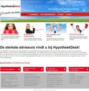 HypotheekDesk lanceert nieuwe website