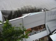 Door regen ingestort dak gedekt bij Fortis ASR