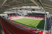 Stadion Galgenwaard decor voor nieuwe carrièrebeurs