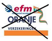 Fusie scheepsverzekeraars Oranje en EFM voorlopig van de baan