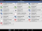 iPad-app voor Hyarchis-gebruiker