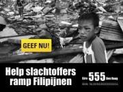 Verzekeringsbranchedag steunt hulpactie Filipijnen