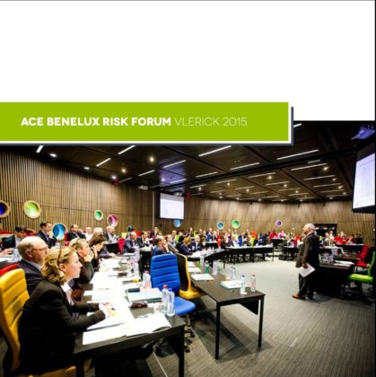 ACE Benelux Risk Forum Vlerick 2015