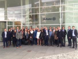 Zeer geslaagde Young Insurance-reis München 2016