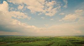 Kabel- en leidingschade: De op drift geraakte observatieballon in de hoogspanningsmast