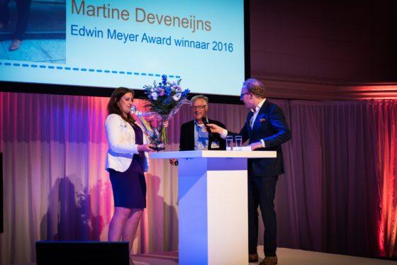 Eerste Edwin Meyer Award voor Martine Deveneijns