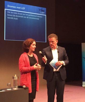 LEF-ambassadeur Femke Halsema ziet gastlessen als 'resocialisatie' voor sector
