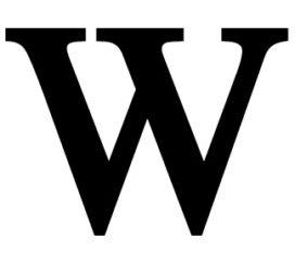 Het W-woord is terug