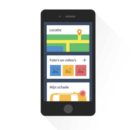 Nog een app voor mobiel schademelden