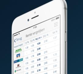 Hypotheekbond biedt hypotheekrente app voor intermediair