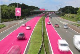 Britse verzekeraar wil roze rijstroken voor vrouwen