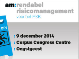 Win gratis kaarten voor am:event Rendabel Risicomanagement