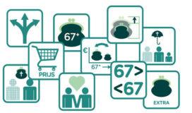 Symbolen kampeergids stonden model voor Pensioen 1-2-3