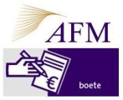 AFM deelt minder boetes uit