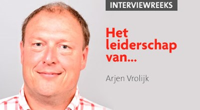 Arjen Vrolijk: 'Bij het bouwen aan een team ga ik af op mijn intuïtie'