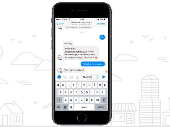 Chatbot van RISK sluit autoverzekeringen af via Facebook Messenger