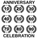 Jubileum 80x80