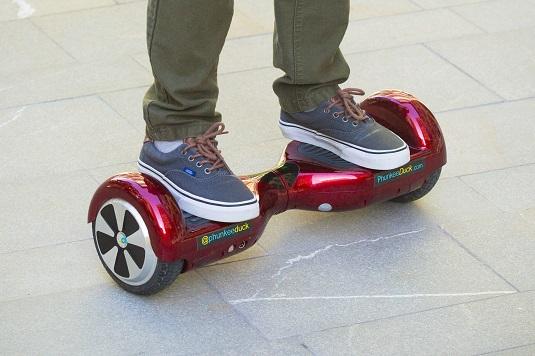 Hoverboard: motorvoertuig en speelgoed tegelijk