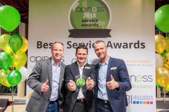Adviesorganisatie Zicht wint prijs voor 'beste service'