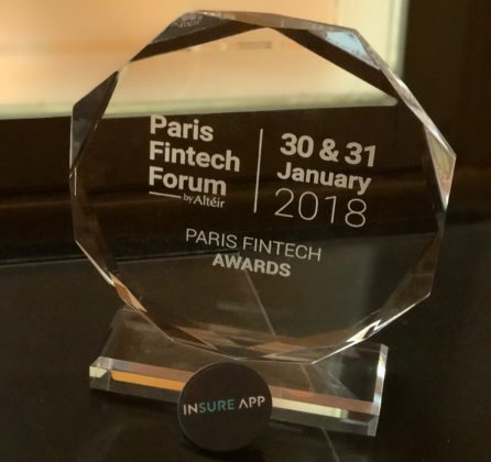 Start-up InsureApp sleept Paris Fintech award binnen