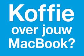 Koffie over jouw notebook? Amac biedt helpende hand