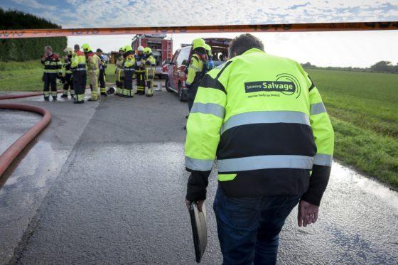 Salvage helpt als proef bij opruimen asbest na brand