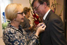 Lintje en leerstoel voor scheidend Hagelunie-directeur Koeckhoven