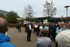 Kick Out Woekerpolis protest bereikt Achmea