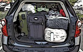 Kampeerder op doorreis moet alle bagage naar hotelkamer meenemen
