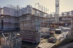Minder vergunningen voor nieuwbouw afgegeven