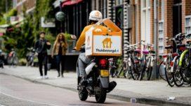 Bezorgscooters rijden zes keer zoveel schade als privé-scooters