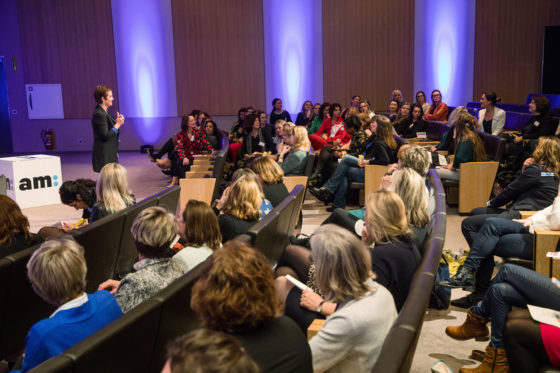 AM: Congres Vrouwen Top 75