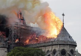 Donatus: 'Met eerste giften lijkt herbouw Notre Dame haalbaar'
