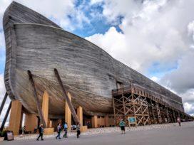 Themapark rond Ark van Noach claimt schade door overvloedige regenval