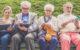Pensioen oud bejaard 80x50