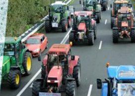 Wat als een protesterende boer op de snelweg schade rijdt aan uw auto?